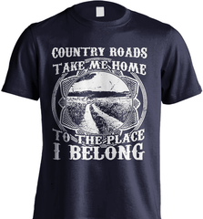Farmer Shirt - Country Roads Take Me Home - Shirt Loft - 6