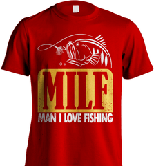 Fishing Shirt - (MILF) Man I Love Fishing - Shirt Loft - 7