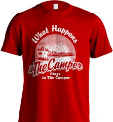 Camping Shirt - What Happens In The Camper Stays In The Camper - Shirt Loft - 8