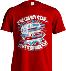 Camping Shirt - If The Camper Is Rockin Don't Come Knockin - Shirt Loft - 7