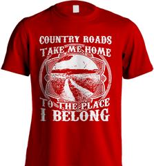 Farmer Shirt - Country Roads Take Me Home - Shirt Loft - 7