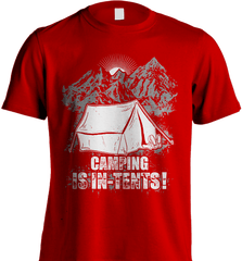 Camping Shirt - Camping Is In-Tents! - Shirt Loft - 8