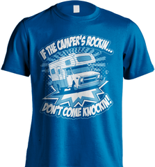 Camping Shirt - If The Camper Is Rockin Don't Come Knockin - Shirt Loft - 8
