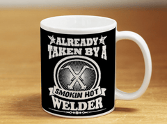 Free Welder Mug - Already Taken By A Smokin Hot Welder - Shirt Loft - 2