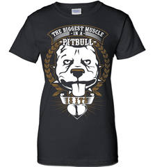 Pit Bull Shirt - The Biggest Muscle Is The Heart - Shirt Loft - 9