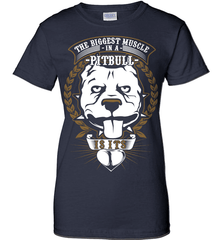 Pit Bull Shirt - The Biggest Muscle Is The Heart - Shirt Loft - 10
