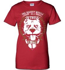 Pit Bull Shirt - The Biggest Muscle Is The Heart - Shirt Loft - 11
