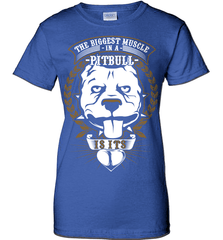 Pit Bull Shirt - The Biggest Muscle Is The Heart - Shirt Loft - 12