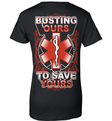 EMT Shirt - Busting Ours To Save Yours - Shirt Loft - 9