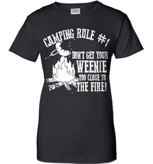 Camping Shirt - Camping Rule #1. Don't Get Your Weenie Too Close To The Fire! - Shirt Loft - 9