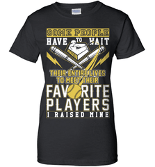Softball Mom Shirt - Some People Have To Wait Their Entire Lives To Meet Their Favorite Players. I Raised Mine - Shirt Loft - 9