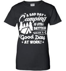 Camping Shirt - A Bad Day Camping Is Better Then A Good Day Working - Shirt Loft - 9