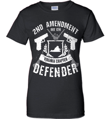 Gun Shirt - 2nd Amendment Virginia Chapter Defender - Shirt Loft - 9