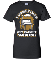 BBQ Shirt - I Sometimes Get Caught Smoking - Shirt Loft - 9