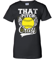 Softball Mom Shirt - That Pitch Cray - Shirt Loft - 9