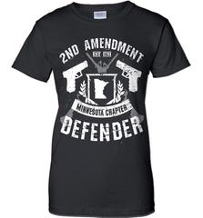 Gun Shirt - 2nd Amendment Minnesota Chapter Defender - Shirt Loft - 9