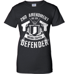 Gun Shirt - 2nd Amendment Indiana Chapter Defender - Shirt Loft - 9