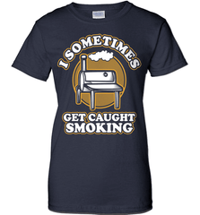 BBQ Shirt - I Sometimes Get Caught Smoking - Shirt Loft - 10
