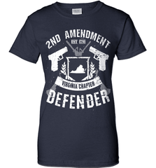 Gun Shirt - 2nd Amendment Virginia Chapter Defender - Shirt Loft - 10