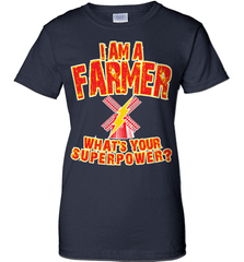 Farmer Shirt - I Am A Farmer. What's Your Superpower? - Shirt Loft - 11