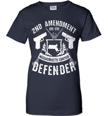 Gun Shirt - 2nd Amendment Massachusetts Chapter Defender - Shirt Loft - 10