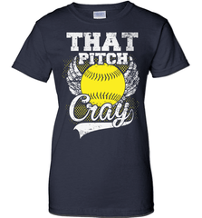 Softball Mom Shirt - That Pitch Cray - Shirt Loft - 10