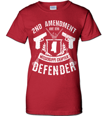 Gun Shirt - 2nd Amendment Mississippi Chapter Defender - Shirt Loft - 11
