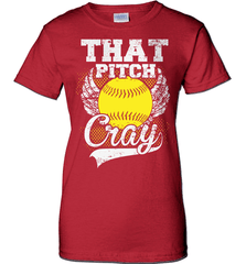 Softball Mom Shirt - That Pitch Cray - Shirt Loft - 11