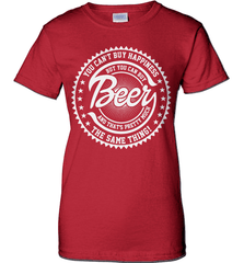 Beer Shirt - You Can't Buy Happiness But You Can Buy Beer And That's Pretty Much The Same Thing! - Shirt Loft - 11