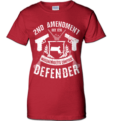 Gun Shirt - 2nd Amendment Massachusetts Chapter Defender - Shirt Loft - 11