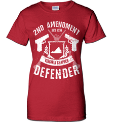 Gun Shirt - 2nd Amendment Virginia Chapter Defender - Shirt Loft - 11