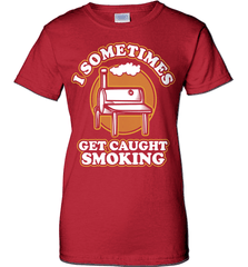 BBQ Shirt - I Sometimes Get Caught Smoking - Shirt Loft - 11