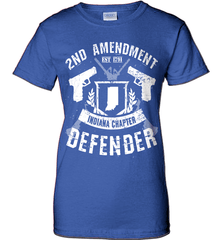 Gun Shirt - 2nd Amendment Indiana Chapter Defender - Shirt Loft - 12