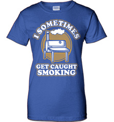 BBQ Shirt - I Sometimes Get Caught Smoking - Shirt Loft - 12