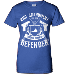 Gun Shirt - 2nd Amendment Virginia Chapter Defender - Shirt Loft - 12