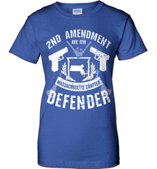 Gun Shirt - 2nd Amendment Massachusetts Chapter Defender - Shirt Loft - 12