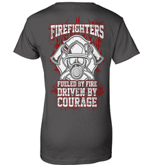 Firefighter Shirt - Firefighters: Fueled By Fire, Driven By Courage - Shirt Loft - 10