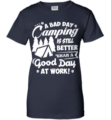 Camping Shirt - A Bad Day Camping Is Better Then A Good Day Working - Shirt Loft - 10