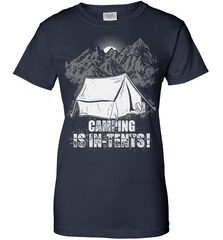 Camping Shirt - Camping Is In-Tents! - Shirt Loft - 11