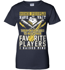 Softball Mom Shirt - Some People Have To Wait Their Entire Lives To Meet Their Favorite Players. I Raised Mine - Shirt Loft - 10