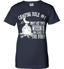 Camping Shirt - Camping Rule #1. Don't Get Your Weenie Too Close To The Fire! - Shirt Loft - 11