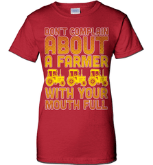 Farmer Shirt - Don't Complain About A Farmer With Your Mouth Full - Shirt Loft - 12