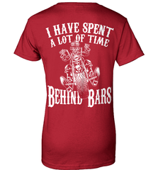 Biker Shirt - I Have Spend A Lot Of Time Behind Bars - Shirt Loft - 11