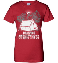 Camping Shirt - Camping Is In-Tents! - Shirt Loft - 12