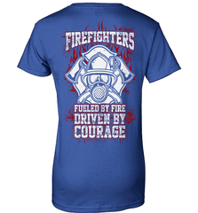 Firefighter Shirt - Firefighters: Fueled By Fire, Driven By Courage - Shirt Loft - 12
