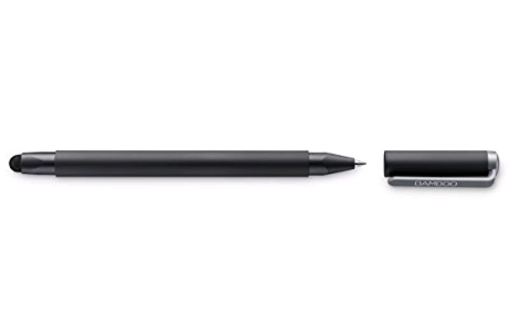 Wacom Gen 4 Bamboo Duo Stylus with Ballpoint Pen for Kindle Fire, iPad Pro, iPad - Simtek World