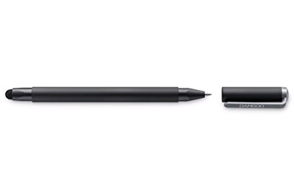 Wacom Gen 4 Bamboo Duo Stylus with Ballpoint Pen for Kindle Fire, iPad Pro, iPad