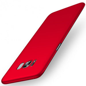 Ultra Slim Case Cover For Samsung Galaxy S8 Plus (Red) - Simtek World