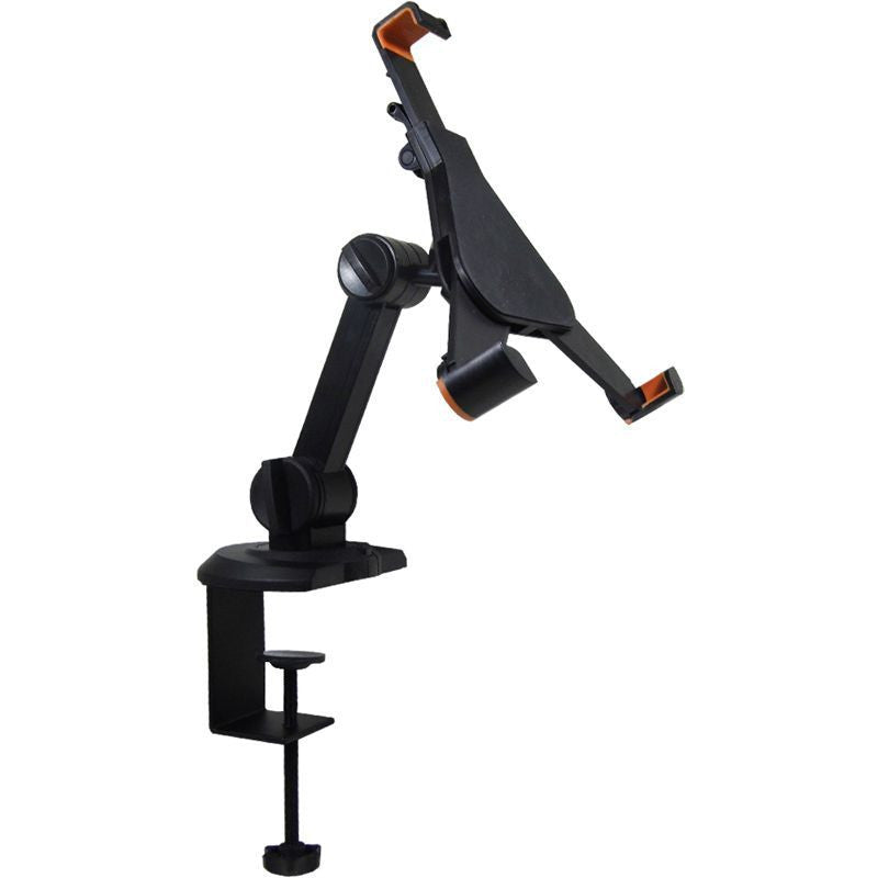 "IPAD MINI SINGLE ARM FLEXIBLE DESK MOUNT 7"" - 8.5"" - Simtek World"