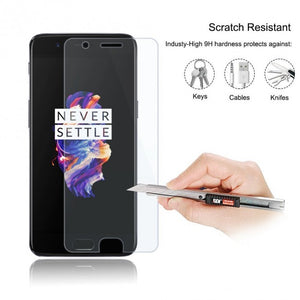 Oneplus 5 Tempered Glass Screen Protector - Simtek World